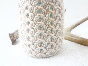 free mason jar cozy knitting pattern
