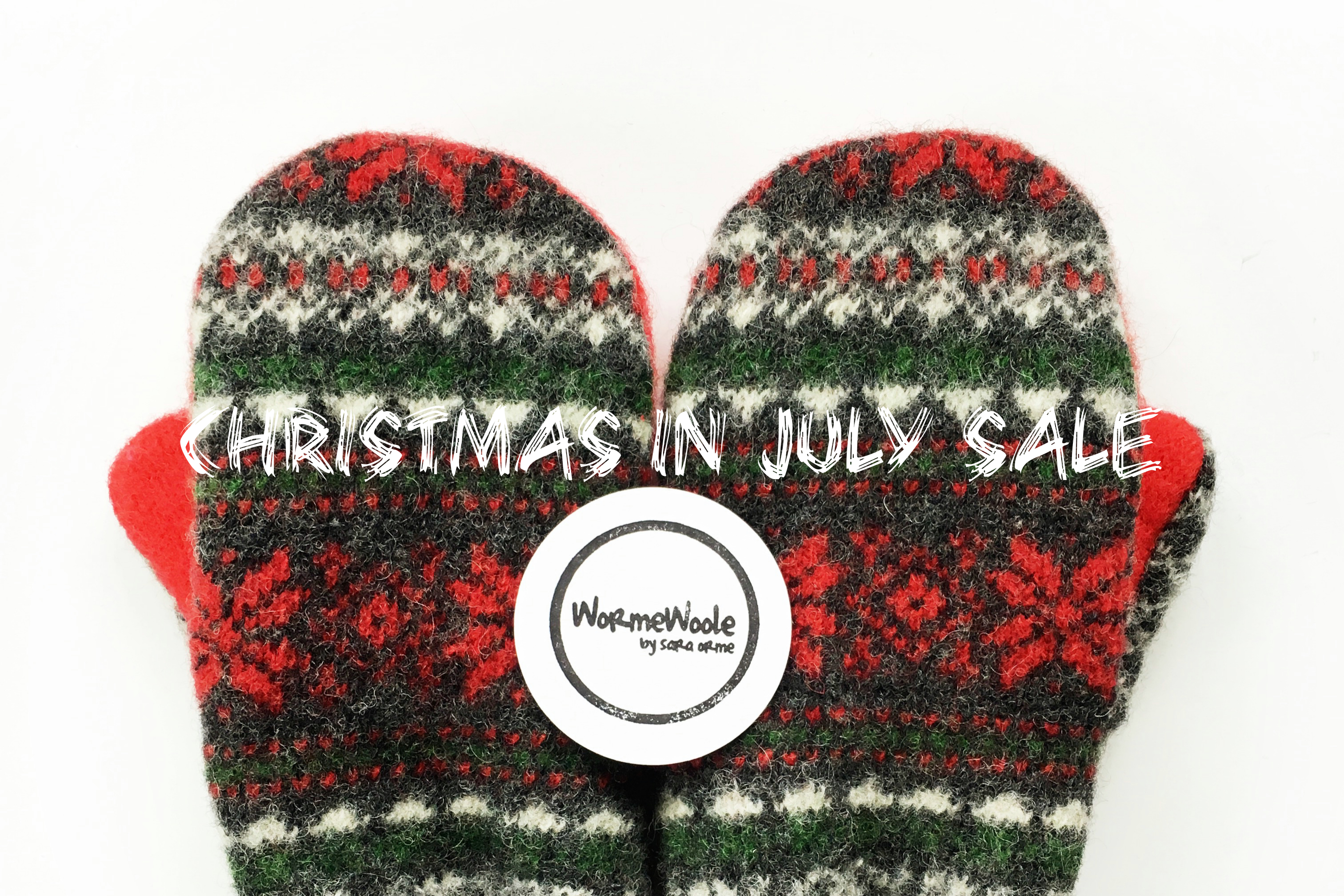 WormeWoole Christmas in July Sale